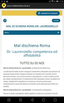 Mal dischiena roma poster