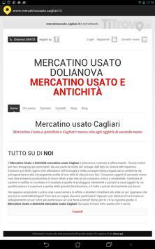 Mercatino Usato Cagliari poster