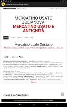 Mercatino Usato Oristano poster