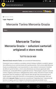 Mercerie Torino poster