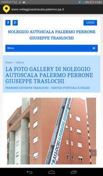 Noleggio autoscala Palermo screenshot 2