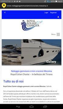 noleggio gommoni Messina poster