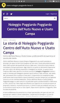 noleggio Poggiardo screenshot 1