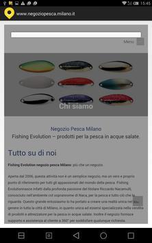 Negozio pesca Milano apk screenshot