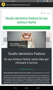 Studio dentistico Padova poster