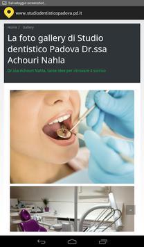 Studio dentistico Padova screenshot 2