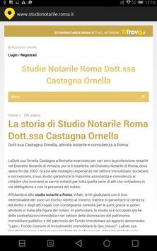 Studio notarile Roma apk screenshot