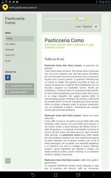 Pasticceria Como poster