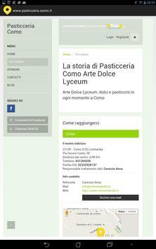 Pasticceria Como screenshot 2
