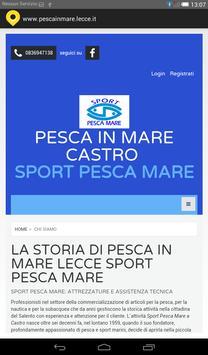 Pesca in mare Lecce screenshot 1