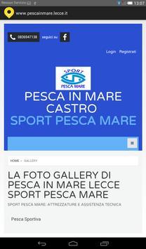 Pesca in mare Lecce screenshot 2