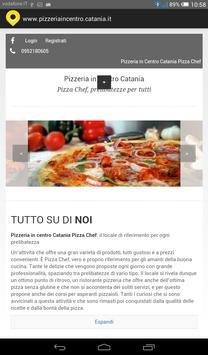 Pizzeria in centro Catania poster