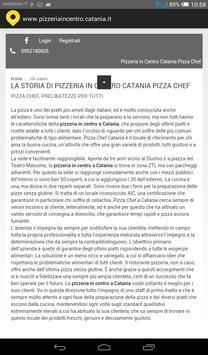 Pizzeria in centro Catania apk screenshot