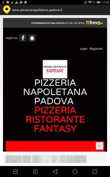 Pizzeria napoletana Padova poster