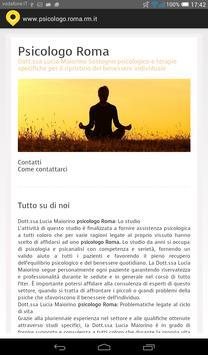 Psicologo Roma apk screenshot