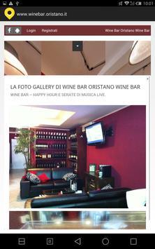 Wine bar Oristano apk screenshot