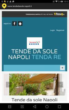 Tende da sole Napoli poster