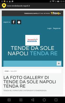 Tende da sole Napoli apk screenshot