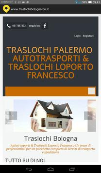 Traslochi Bologna poster