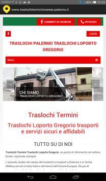 Traslochi Termini poster