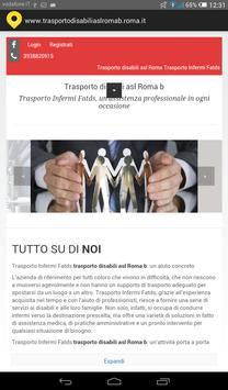Trasporto disabili asl Roma b poster