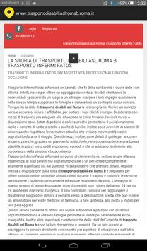 Trasporto disabili asl Roma b screenshot 1