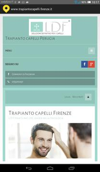 Trapianto capelli Firenze poster