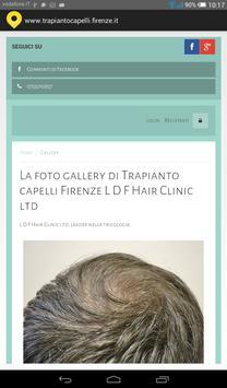 Trapianto capelli Firenze apk screenshot