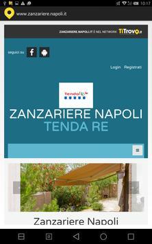 Zanzariere Napoli poster