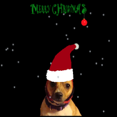 Santa Dog Live Wallpaper icon