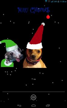 Santa Dog Live Wallpaper screenshot 5