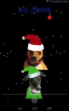 Santa Dog Live Wallpaper screenshot 6