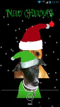 Santa Dog Live Wallpaper screenshot 1