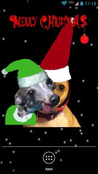 Santa Dog Live Wallpaper screenshot 2
