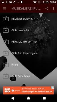 MUSIKALISASI PUISI CINTA screenshot 2
