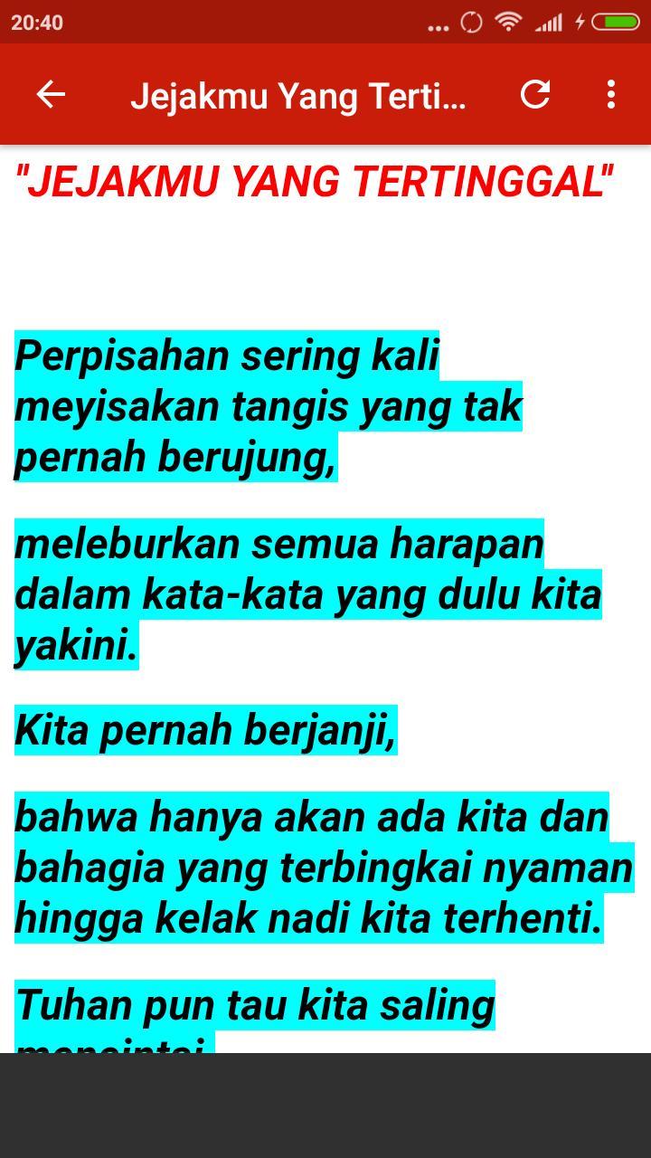 Kumpulan Puisi Cinta Sedih Jilid 2 For Android Apk Download