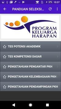 Panduan Tes Seleksi SDM PKH apk screenshot