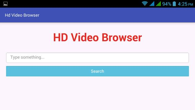 HD Video Browser poster