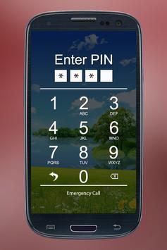 Pass Pin Lock Screen poster