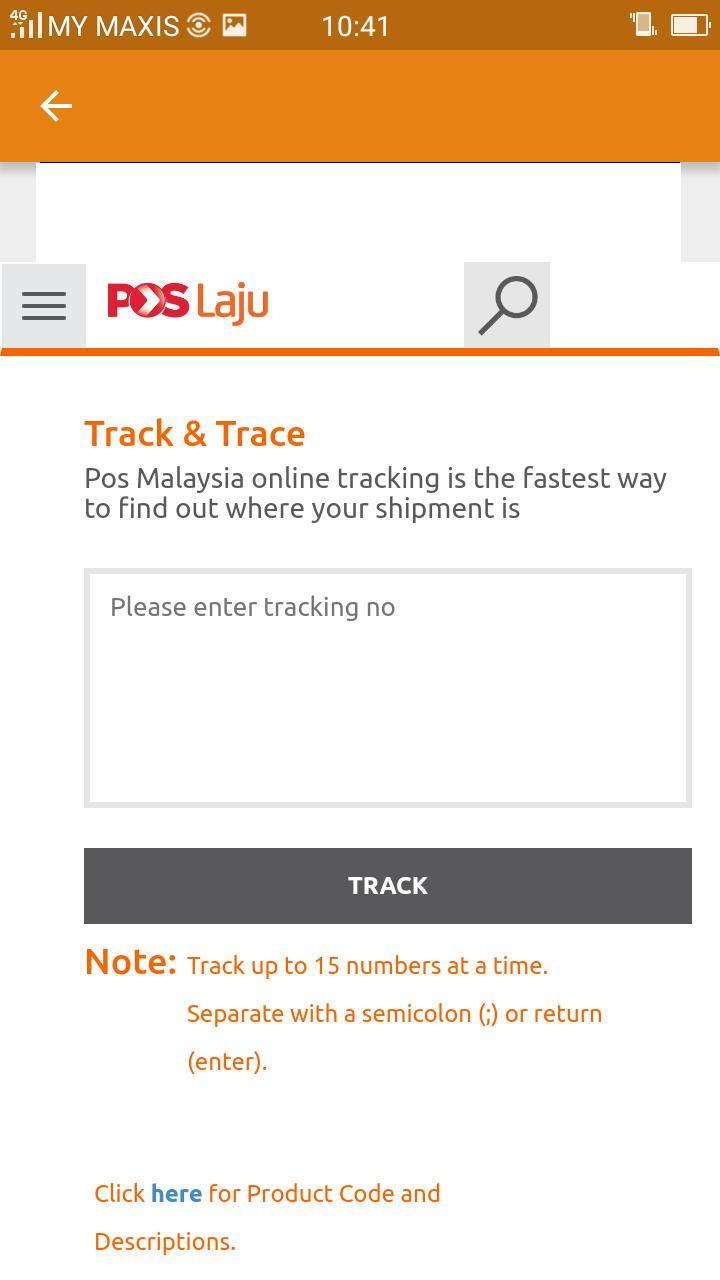 Poslaju Tracking For Android Apk Download