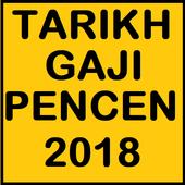 Tarikh Gaji Pencen 2018 icon