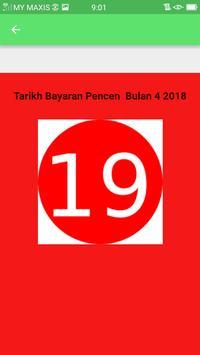 Tarikh Gaji Pencen 2018 poster