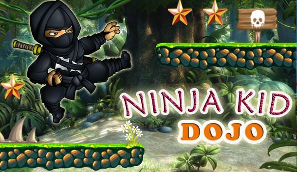 Ninja Kid Dojo Game apk screenshot
