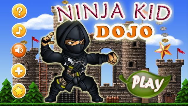Ninja Kid Dojo Game poster