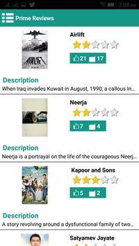 Prime Reviews screenshot 1