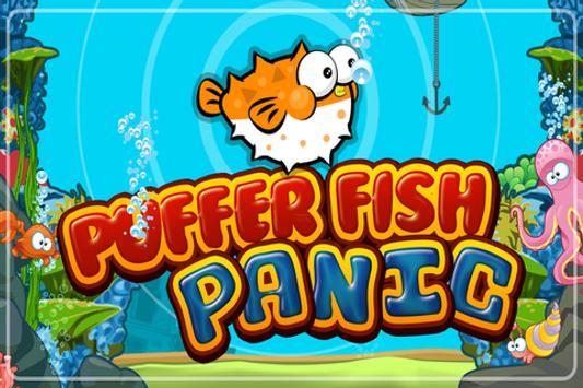 Puffer Fish Panic Nemo's Reef poster