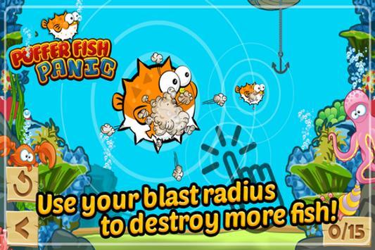 Puffer Fish Panic Nemo's Reef screenshot 2