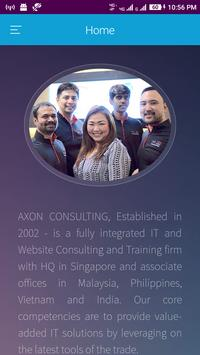 Axon Consulting Group poster