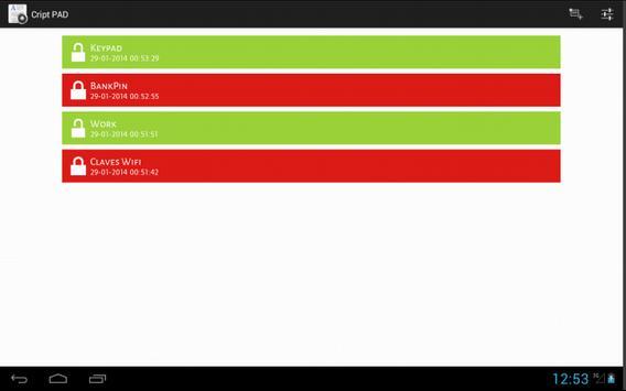 Secure Notes FREE screenshot 8