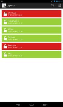 Secure Notes FREE screenshot 9
